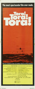 "Movie Posters:War, Tora, Tora, Tora (20th Century Fox, 1970). Insert (14"" X 36""). Thisepic war picture tells the story of the attack on Pearl ..."