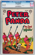 Golden Age (1938-1955):Funny Animal, Peter Panda #5 (DC, 1954) CGC VG- 3.5 Off-white to white pages....