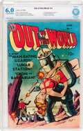 Golden Age (1938-1955):Science Fiction, Out of This World #1 (Avon, 1950) CBCS FN 6.0 Cream to off-whitepages....