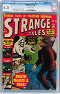 Golden Age (1938-1955):Horror, Strange Tales #13 (Atlas, 1952) CGC VG 4.0 Off-white pages....