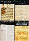 Books:Religion & Theology, [Religion & Theology]. Group of Four from The Bible as Book. The British Library & Oak Knoll Press, 1998-2002.... (Total: 4 Items)