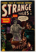 Golden Age (1938-1955):Horror, Strange Tales #17 (Atlas, 1953) Condition: VG....
