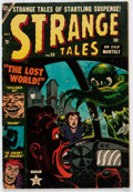 Golden Age (1938-1955):Horror, Strange Tales #20 (Atlas, 1953) Condition: FN-....