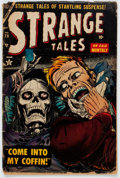 Golden Age (1938-1955):Horror, Strange Tales #28 (Atlas, 1954) Condition: FR....