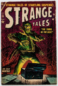 Golden Age (1938-1955):Horror, Strange Tales #30 (Atlas, 1954) Condition: VG....