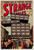 Golden Age (1938-1955):Science Fiction, Strange Tales #31 (Atlas, 1954) Condition: GD/VG....