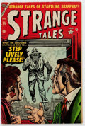 Golden Age (1938-1955):Horror, Strange Tales #33 (Atlas, 1954) Condition: VG/FN....