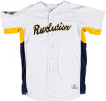 Baseball Collectibles:Uniforms, 2004 Brooks Robinson York White Roses Jersey, Modeled After FirstProfessional Jersey from The Brooks Robinson Collection. ...