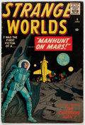 Golden Age (1938-1955):Science Fiction, Strange Worlds #4 (Marvel, 1959) Condition: VG+....