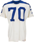Football Collectibles:Uniforms, 1964 Tom Sestak, Etc. Game Worn AFL All Star Jersey....