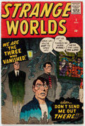 Silver Age (1956-1969):Horror, Strange Worlds #5 (Atlas, 1959) Condition: VG/FN....