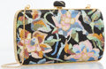 "Luxury Accessories:Accessories, Judith Leiber Full Bead Multicolor Crystal Floral MinaudiereEvening Bag. Excellent Condition. 7"" Width x 4"" Height x..."
