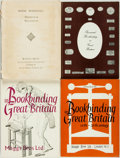 Miscellaneous:Catalogs, [Bookbinding]. Group of Four Catalogues. London: Maggs Bros. Ltd.,[various dates].... (Total: 4 Items)