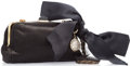 "Luxury Accessories:Accessories, Lanvin Black Satin Bow Evening Bag . Excellent Condition.7"" Width x 4.5"" Height x 2"" Depth, 17"" Shoulder Drop...."