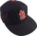 Baseball Collectibles:Uniforms, Circa 1960 St. Louis Cardinals Game Worn Cap....