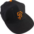 Baseball Collectibles:Uniforms, Late 1950's Willie Mays Game Worn San Francisco Giants Cap....