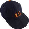Baseball Collectibles:Others, Early 1960's Houston Colt .45s Game Worn Cap....