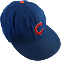 Baseball Collectibles:Uniforms, 1958-59 Al Dark Game Worn Chicago Cubs Cap....