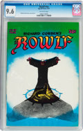 Bronze Age (1970-1979):Horror, Rowlf #nn (Rip Off Press, 1971) CGC NM+ 9.6 Off-white pages....