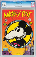 Bronze Age (1970-1979):Alternative/Underground, Mickey Rat #1 (Los Angeles Comic Book Co., 1972) CGC NM+ 9.6 Off-white to white pages....