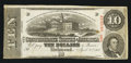 Confederate Notes:1863 Issues, T59 $10 1863 PF-35 Cr. 444.. ...