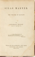 Books:Literature Pre-1900, George Eliot. Silas Marner: The Weaver of Raveloe. Edinburghand London: William Blackwood and Sons, 1861.. ...