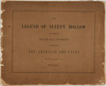 Books:Art & Architecture, Felix O. C. Darley. Illustrations of The Legend of Sleepy Hollow Designed and Etched by Felix O C Darley for the Members...