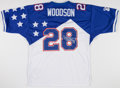 Football Collectibles:Uniforms, Darren Woodson Signed NFC Pro Bowl Jersey....