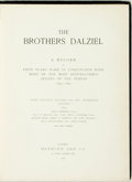 Books:Art & Architecture, [Illustration Art]. George and Edward Dalziel. The Brothers Dalziel; a Record of Fifty Year's Work in Conjunction with M...