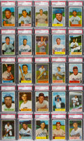 Baseball Cards:Sets, 1954 Bowman Baseball Complete Set (224) - #8 on the PSA Set Registry. ...