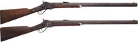 F.E. Conrad Shipped Sharps Model 1874 Heavy Sporting Rifles with Factory Letters