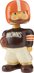 """Football Collectibles:Others, 1960-61 Cleveland Browns Oversized Promotional Nodder (14"""" tall). ..."""