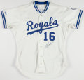 Baseball Collectibles:Uniforms, Bo Jackson Signed Kansas City Royals Jersey....