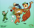 Animation Art:Limited Edition Cel, Yogi Bear Limited Edition Sericel (Hanna-Barbera, 1990s)....