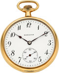 Timepieces:Pocket (post 1900), Hamilton 14k Gold Grade 900 12 Size. ...