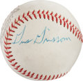 Miscellaneous Collectibles:General, 1960's Mercury Seven Astronauts Signed Baseball with Grissom..... 1960's Mercury Seven Astronauts Signed Baseball with ...