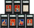 Basketball Cards:Lots, 1948 Bowman Basketball SGC 92 NM/MT+ 8.5 Collection (7). ...
