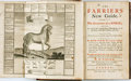 Books:Science & Technology, [Veterinary Science]. W[illiam] Gibson. The Farrier's New Guide. London: T. and T. Longman, 1754....