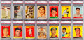 Baseball Cards:Sets, 1957 and 1958 Topps Baseball Partial Set Pair (2). ...