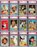 Baseball Cards:Sets, 1961 Topps Baseball High Grade Partial Set (488/587). ...