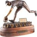 "Baseball Collectibles:Others, Circa 2000 ""The Human Vacuum Cleaner"" Bronze Sculpture from The Brooks Robinson Collection...."