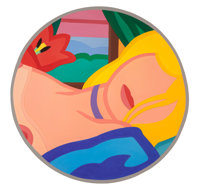 Tom Wesselmann (1931-2004) Blonde Vivienne (Filled In), 1985/1995 Alkyd oil on cut-out aluminum 5