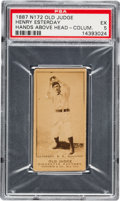 Baseball Cards:Singles (Pre-1930), 1887 N172 Old Judge Henry Esterday, Columbus (#147-3) PSA EX 5. ...