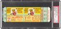 Baseball Collectibles:Tickets, 1958 World Series Game 7 Full Ticket, PSA Mint 9. ...