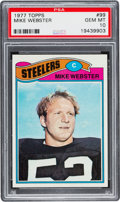 Football Cards:Singles (1970-Now), 1977 Topps Mike Webster #99 PSA Gem Mint 10....