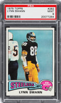 Football Cards:Singles (1970-Now), 1975 Topps Lynn Swann #282 PSA Mint 9....