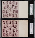 Baseball Cards:Lots, 1906/07 W601 Sporting Life Team Post Cards Chicago Pair (2). ...