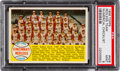 Baseball Cards:Singles (1950-1959), 1958 Topps Cincinnati Redlegs, Numerical Checklist #428 PSA Mint 9- Pop Two, None Higher!...