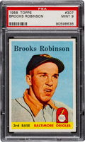 Baseball Cards:Singles (1950-1959), 1958 Topps Brooks Robinson #307 PSA Mint 9 - None Higher!...