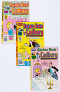 Bronze Age (1970-1979):Cartoon Character, Richie Rich and Cadbury and Richie Rich and Casper File CopiesShort Box Group (Harvey, 1970s-80s) Condition: Average NM-....